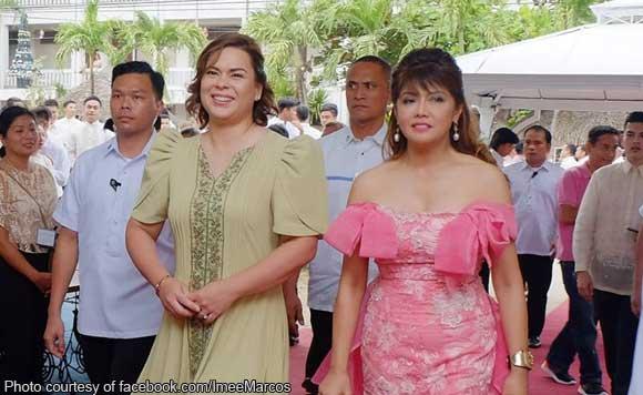 Sara Duterte leads VIP guests in Marcos-Manglapus wedding